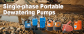 Single-phase Portable Dewatering Pumps